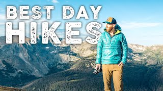 Best Hiking Trails in the World!   My Top 5 Day Hikes