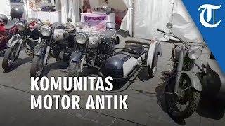 Komunitas Motor Antik Meriahkan Festival Kali Besar Jakarta