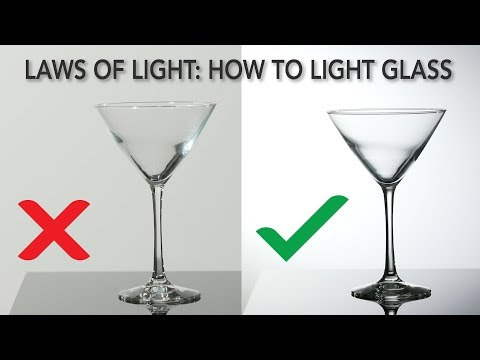 Laws of Light: How to Light Glass