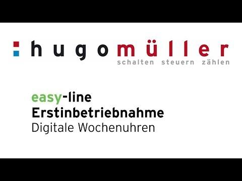 easy line - Die neue Wochen-Schaltuhren der easy-line [Verteilereinbau und Unterputz-Montage]