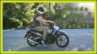 Το Νέο Honda Supra X 125 Helmin