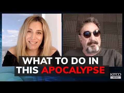 John McAfee Says This Is the Ultimate Apocalypse! Here's His Game Plan! - Must See Video!