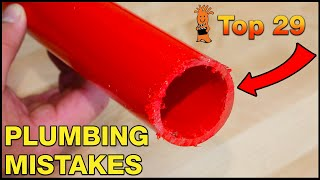 If you don't fix these plumbing issues now, you'll hate yourself later! - Top 29 Plumbing Mistakes