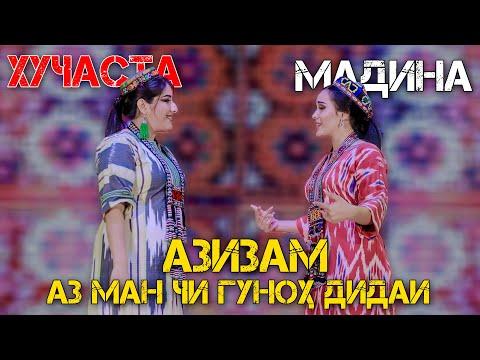 Хучастаи Мирзовали ва Мадина Акназарова - Азизам (Клипхои Точики 2020)