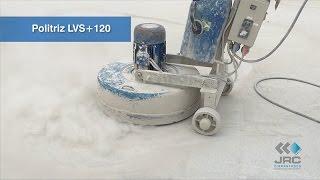 Politriz de Piso LVS   Husqvarna PG280 e PG820   Fortemac   Polimento em Concreto   JRC Diamantados