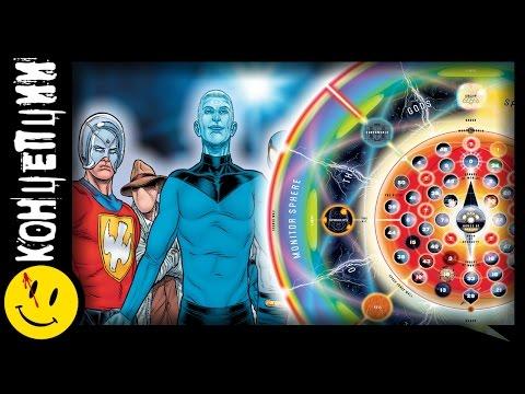 САМАЯ точная карта ВСЕЛЕННЫХ DC. Краткая история мультивселенной. (DC Comics)