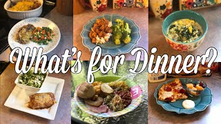 What's for Dinner?| Family Meal Ideas| April 15-21, 2019