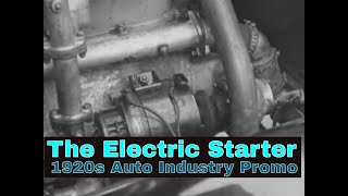 """"""" THE ELECTRIC STARTER """"  1920s AUTO IGNITION SYSTEM EDUCATIONAL FILM   YELLOW COACH BUSES  XD49824"""