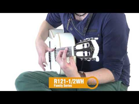 ORTEGA R121-1/2WH Dětská klasická kytara