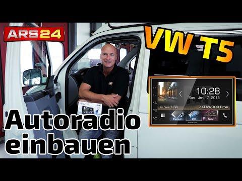 Autoradio VW T5 einbauen | mit DAB-Antenne und Apple CarPlay | Tutorial