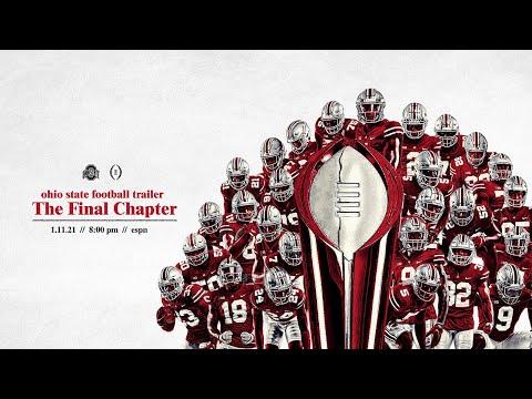 2020 Ohio State Football: National Championship Trailer