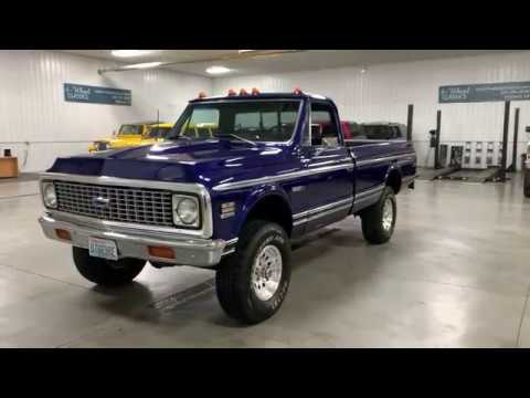 1972 Chevrolet K-10 (CC-1305881) for sale in Holland , Michigan
