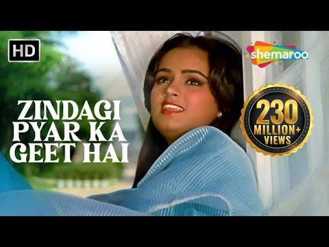 Zindagi Pyar Ka Geet Hai | Padmini Kolhapure | Souten | Old Hindi Songs {HD} | Lata Mangeshkar