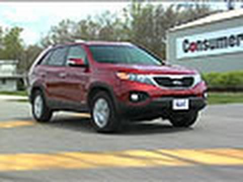 2011 2013 Kia Sorento Review From Consumer Reports