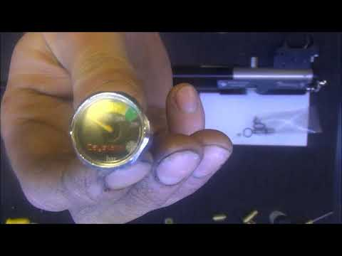 Airgun - Install Altaros regulator and quickfill to Daystate