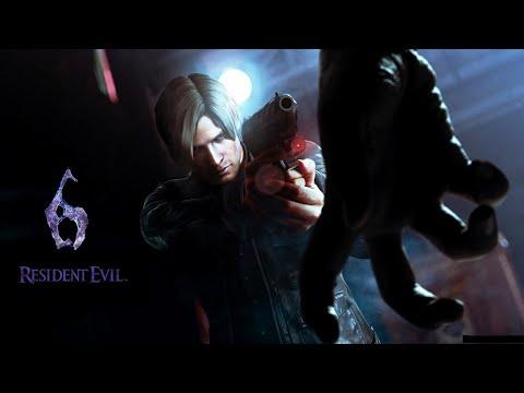Resident Evil 6 Прохождение с комментариями на русском (Леон) Подземка. Часть 3