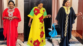 Glamourous Boubou And Kaftan Styles: 2020 Impeccable African Print Long Maxi Dress Styles For Ladies