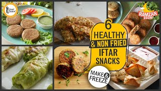 6 Healthy & Non Fried Iftar Snacks By Food Fusion (Ramzan Special)