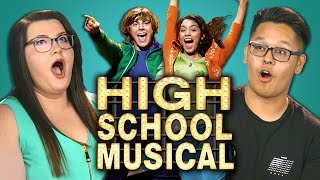 College Kids React to High School Musical (10th Anniversary)