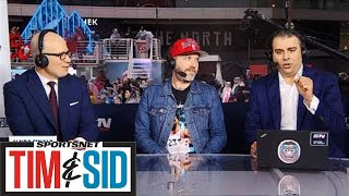 Dallas Green Managing Tour Schedule With Raptors Run To NBA Finals | Tim and Sid
