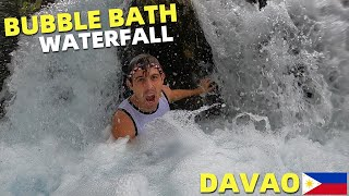 BecomingFilipino – BUBBLE BATH WATERFALLS – Philippines Clean and Cold River Spring (DAVAO PROVINCE)