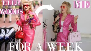 I DRESSED LIKE ELLE WOODS FROM LEGALLY BLONDE FOR A WEEK