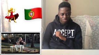 FIRST REACTION TO PORTUGUESE RAP 🇵🇹 (DEEJAY TELIO FT BISPO   Com Licenca)