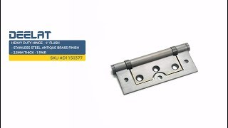 Heavy Duty Hinge - 4