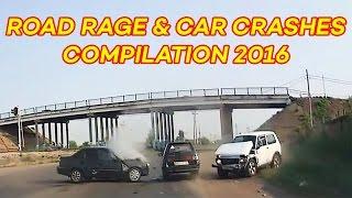 Road Rage & Car Crashes Compilation July 2016 (part 2)