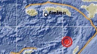Gempa 5,7 SR Mengguncang Maluku, Tidak Berpotensi Tsunami