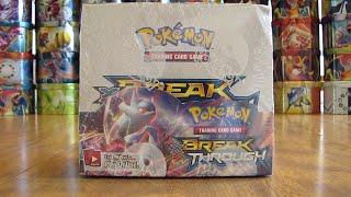 BREAKthrough Pokemon Booster Box Opening Pt. 1