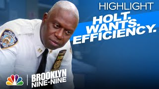 Holt Will Do Anything to Make the Office More Efficient - Brooklyn Nine-Nine