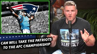 """Pat McAfee """"Cam Newton Will Take The Pats To The AFC Championship"""""""