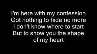 Shape of my heart by Backstreet Boys Lyrics HD & HQ