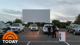 Drive-In Theaters Are Making A Comeback During The Coronavirus Pandemic   TODAY