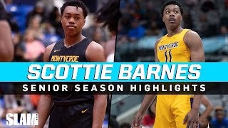 Scottie Barnes is the most ENTERTAINING player in the Country! Senior Season HIGHLIGHTS