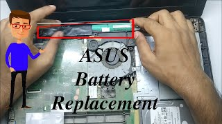 ASUS Battery Replacement | Asus Laptop Battery Removal | ASUS | ASUS battery not charging | Easy Fix