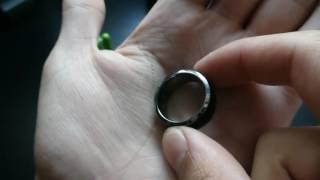 فتح صندوق واستعراض لاول خاتم ذكي في العالم