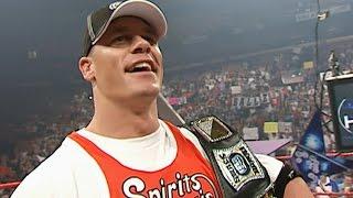 WWE Champion John Cena gets drafted to Raw