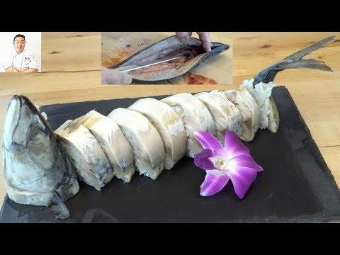 Saba Sugatazushi (Whole Mackeral Sushi) – How To Make Sushi Series