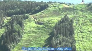 Panorama View Of Örnsköldsvik, Sweden - July 2011 (HD 1080p)
