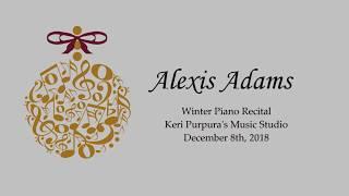 Alexis Adams - 2018 Winter Piano Recital