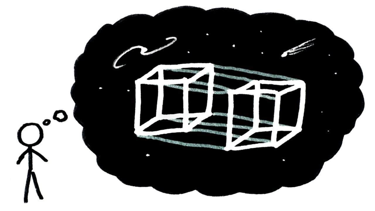 Is There Really A Fourth Dimension? Yes And No