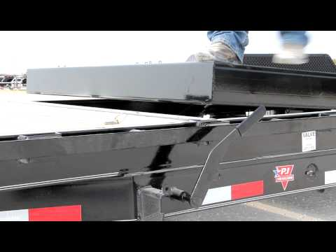 2021 PJ Trailers 6 in. Channel Equipment Tilt (T6) 24 ft. in Hillsboro, Wisconsin - Video 1