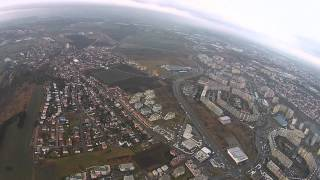 preview picture of video 'Magilian - DJI Fantom 2 Vision - flight 11 Prague'
