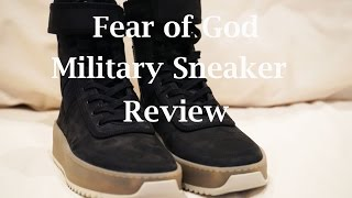 Fear of God Military Sneaker Review | On Foot/Outfits