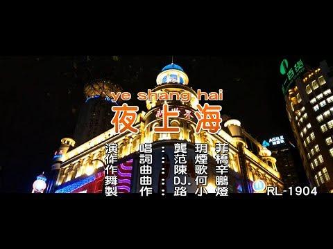 龔玥菲 | 夜上海 | (DJ版) | (1080P)KTV
