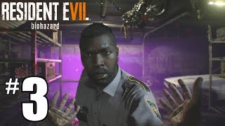 Resident Evil 7 Walkthrough Part 3   JACK GARAGE BOSS FIGHT   How To Beat RES7 PS4 Gameplay