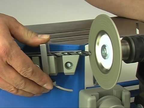 Metallbohrer schleifen mit der Kaindl Schärfstation (KSS)