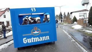 Faschingsumzug Denkendorf Gutmann Bierkasten